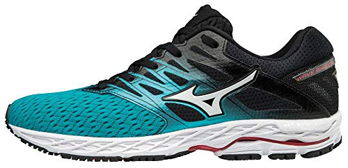 Mizuno Wave Shadow 2, Zapatillas para Mujer, Multicolor (Peacockblue/Silver/Teabe 001), 37 EU