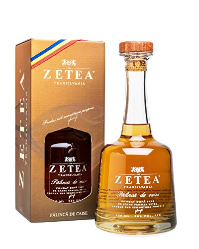 Zetea Transilvania - Palinca de Caise | Aprikosenschnaps aus Rumänien | 700 ml 50% Vol.