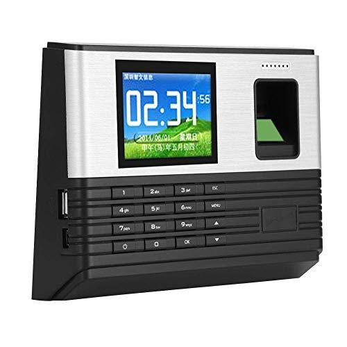 SXXYTCWL Fingerabdruck-Zugriffskontrolle genaue Uhr Recorder zuverlässig for Industrie Restaurant Factory Hotel (britischer Aufsichts) jianyou (Color : British Regulatory)