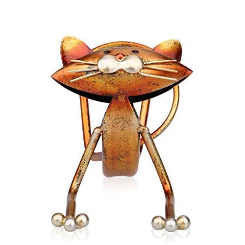Yxyxml Creatieve Thuis Yoga Kat Wijn Rek Decoratie Moderne Metalen Decoratieve Ambachten
