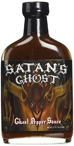 Satan's Ghost Pepper Hot Sauce 5.7oz