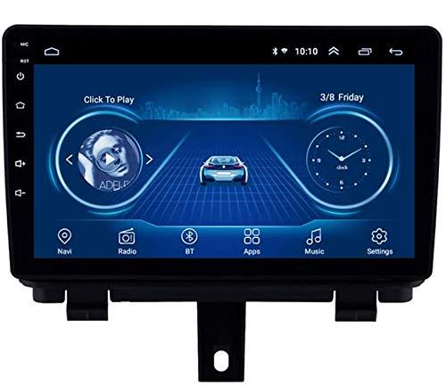 LYHY Compatibile con Audi Q3 2013-2017 Android 9.0 Autoradio Radio Doppio DIN Navigatore satellitare Navigazione GPS da 9 Pollici Touchscreen Lettore multimediale Ricevitore Video con 4G DSP Carplay