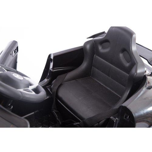 RC Auto kaufen Kinderauto Bild 4: Mercedes-Benz GT-R GTR SoftStart Kinderauto Kinderfahrzeug Kinder Elektroauto (schwarz)*