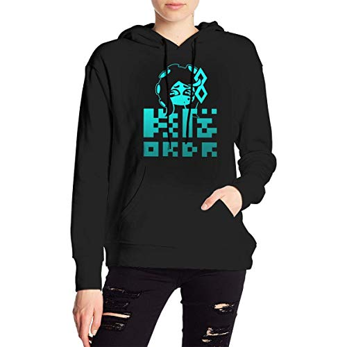 Spla-Toon 2 Splatfest Team Order Women's Long Sleeve Pullover Hoodie Sweatshirt