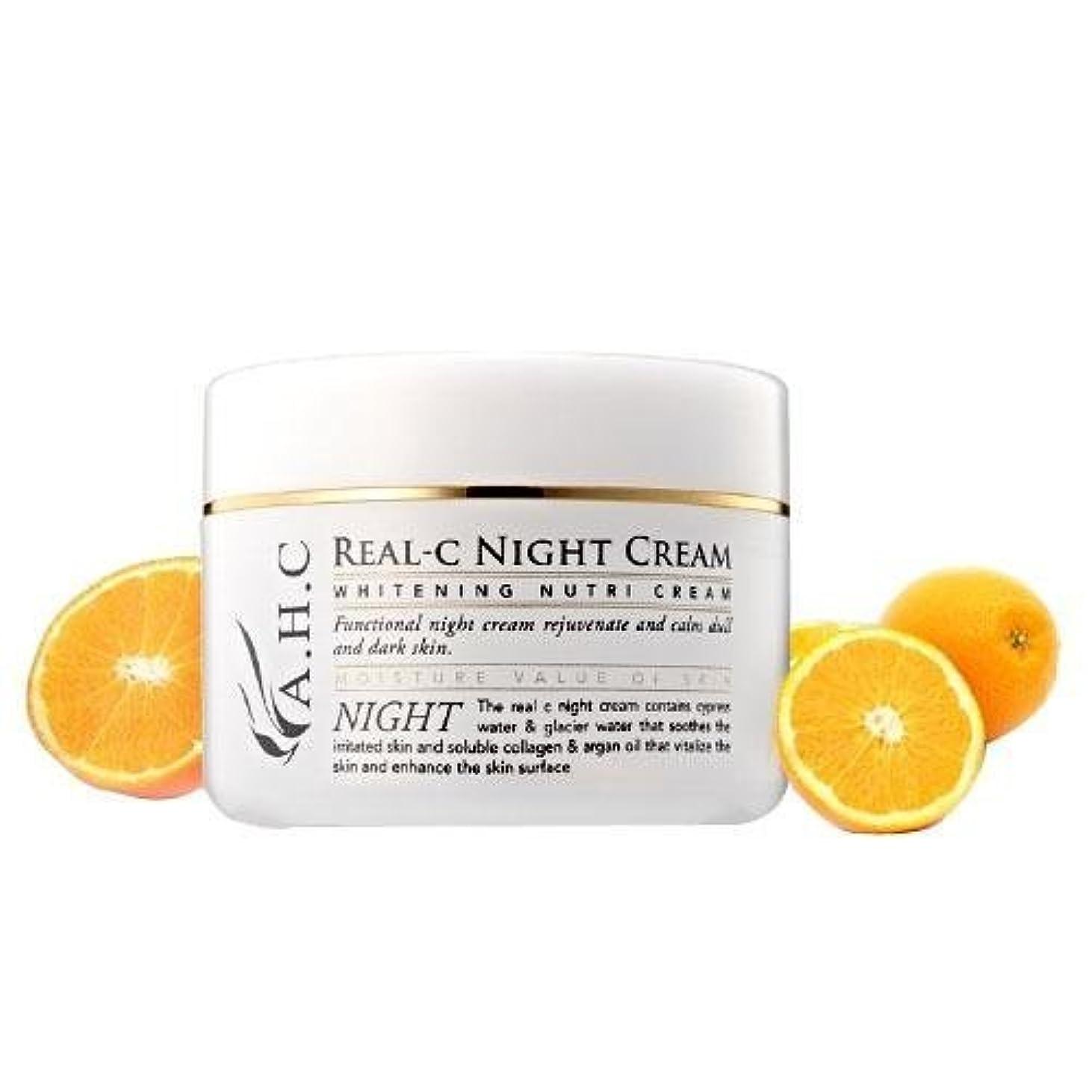 主要なリーク情報A.H.C Real C Night Cream/ Made in Korea