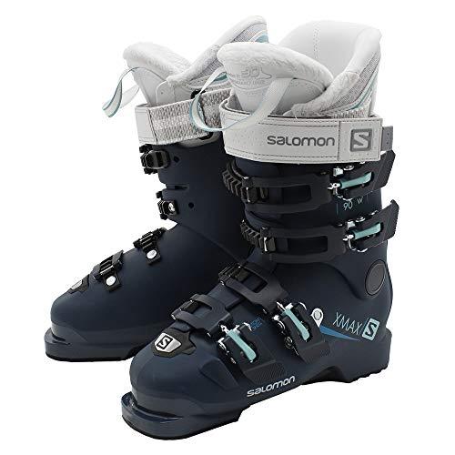 SALOMON X MAX 90 W - Botas de esquí para Mujer, Color Petrol (285), tamaño 25,5