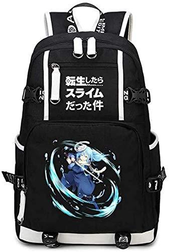 AUGYUESS Mochila GNRT-5434 para disfraz de anime, regalo de anime, regalos de cosplay, para hombres y mujeres.