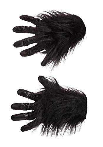 Gorilla Gloves Adult Standard Black