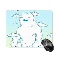 シロクママウスパッド ゲーミング オフィス最適 高級感 おしゃれ耐久性が良 付着力が強い20x25x0.3cm