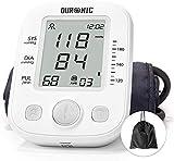 Duronic BPM200 Misuratore di pressione sanguigna automatica da braccio – Ampio display LCD – Memoria fino a 99 misurazioni – Manicotto da 22 – 36 cm – Rivelamento di aritmia