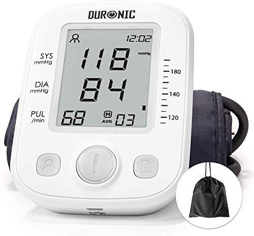Duronic BPM200 Blutdruckmessgerät Oberarm / vollautomatisch / elektronisch / LCD Display / medizinisch zertifiziert