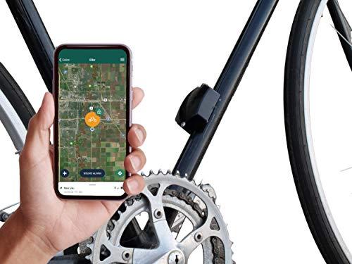 Galeo - GPS Bike Tracker, 4G LTE, Motion Sensor, Audible Alarm w/Remote Activation, SIM Included,...