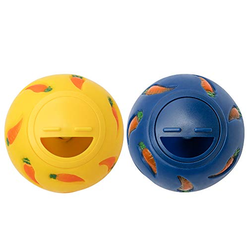 Niteangel Treat Ball, Snack Ball for Small Animals...