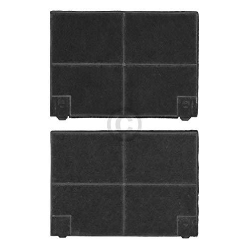 Lot de 2 filtres à charbon DL-pro pour hotte Whirlpool 48400008781 481281728947 Typ141 Zanussi 9029793552 Faber EFF70