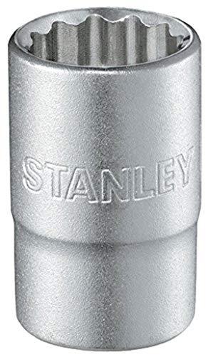 """STANLEY Llave de vaso 1/2\"""" 12 P 32mm 1-17-073, Plateado, 32 mm"""