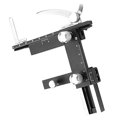ALONGB Microscopio Pinza móvil Accesorios Regla Regla Etapa mecánica Etapa móvil X-Y con Escala