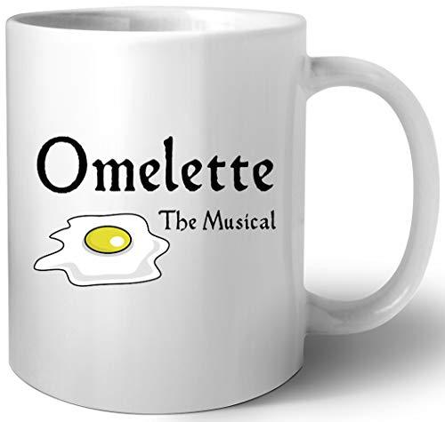 Omelette The Musical! (Something Rotten) Keramik Tassen Mug