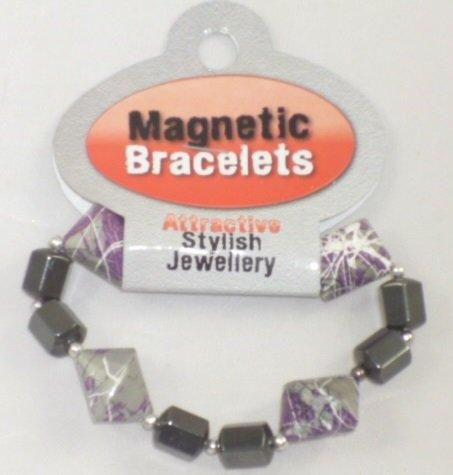 Toyland Le Bracelet Magnétique - Les Bijoux Chic Attrayants - 3 Ans (HL204) Pourpre