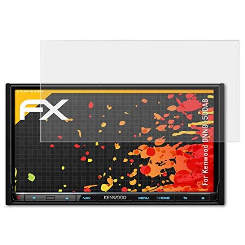 atFoliX Panzerfolie kompatibel mit Kenwood DNN9150DAB Schutzfolie, entspiegelnde und stoßdämpfende FX Folie (3X)