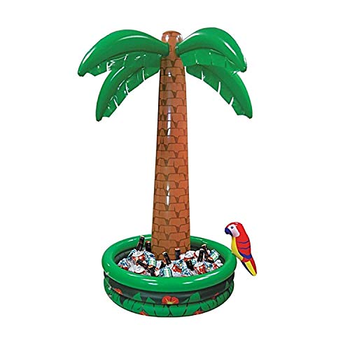 1.82m Giant Inflatable Jumbo Palm Tree Drinks Beer Cooler Summer BBQ Jungle Safari Pirate Hawaiian Luau Party Decoration Parrot Pool