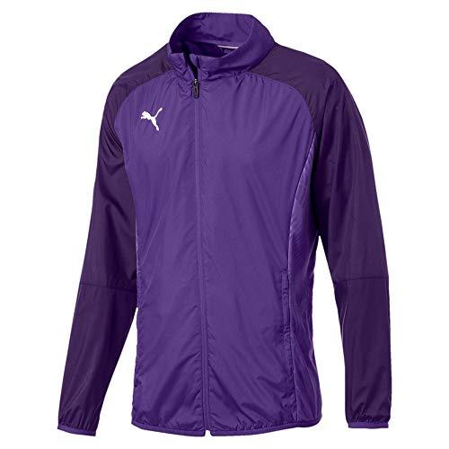 PUMA Cup Sideline Woven Jacket Core Jacket, Hombre, Prism Violet-Indigo, M