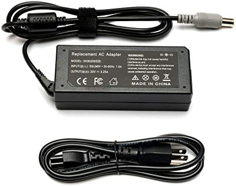 20V 3 25A 65W Adapter Laptop Charger for IBM Lenovo Thinkpad T60 T61 T400 T410 T420 T420s T430u product image