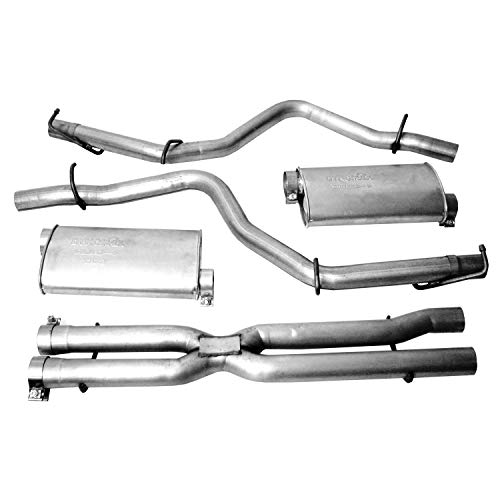 Dynomax 39518 Super Turbo Stainless Steel Cat-Back Dual Exhaust System
