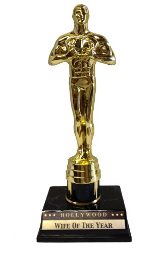 Achievement Victory Trophy Award Wife of the Year Statue