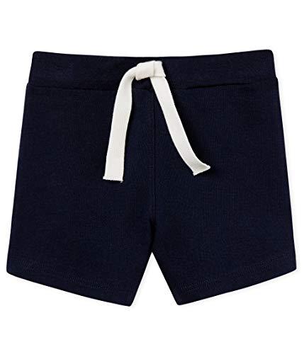 Petit Bateau Short Uni, Bleu (Smoking 03), Nouveau-né (Taille Fabricant: 36 Mois) Bébé garçon