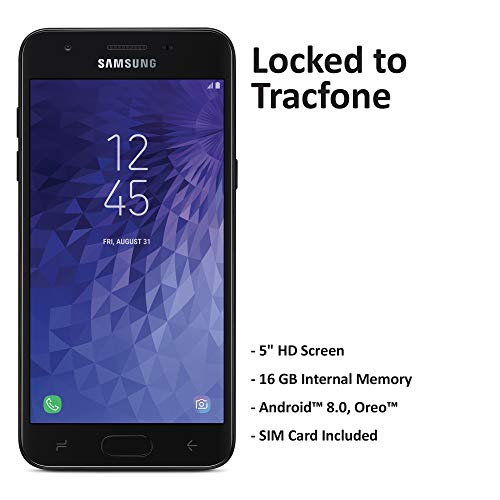 Tracfone Carrier-Locked Samsung Galaxy J3 Orbit 4G LTE Prepaid Smartphone - Black - 16GB - Sim Card...