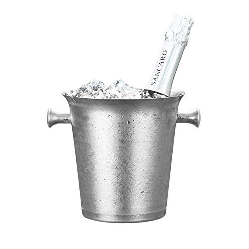HYY-YY Cubos de Hielo de Hielo 3L Hongo Blanco Europea Cubo de Hielo Trompeta Enviar Clip 12 * 17 * 17 cm for Las Partes/del Vino, cócteles y Bebidas climatizado Jardín