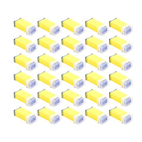 ULTECHNOVO 50 Stück Sterile Sicherheitslanzette 26 G Diabetikerbedarf für Blutzuckertests (Zufällige Farbe)