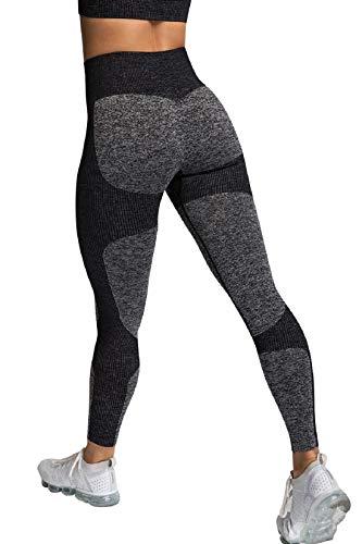 Tuopuda Leggings Mujer Deporte Mallas Pantalones Deportivos Leggings Running y Ejercicio Mallas de deporte de mujer Yoga Leggings