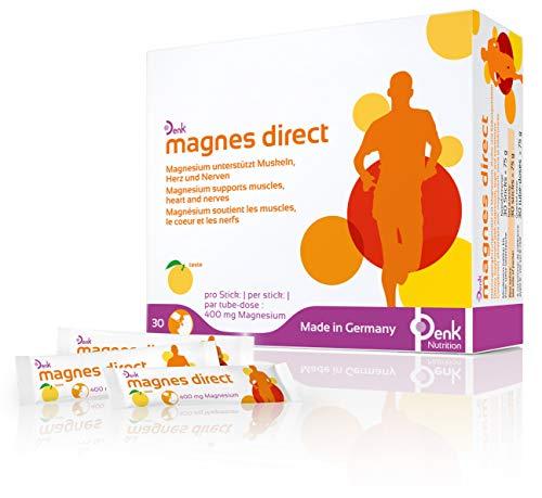 magnes direct Denk - Hochdosierte Magnesiumversorgung (400mg) - 30 Sticks