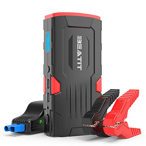 Fantastic Deal! Beatit BT-D11 800A Peak 18000mAh 12V Portable Car Jump Starter (up to 7.5L Gas Or 5....