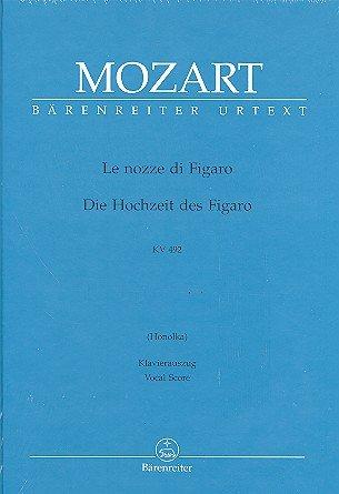 Wolfgang Amadeus Mozart: Le nozze di Figaro (Die Hochzeit des Figaro) KV 492 Oper in 4 Akten - Klavierauszug (it./dt.) mit Bleistift in der Bärenreiter Urtext Edition (Noten/sheet music)