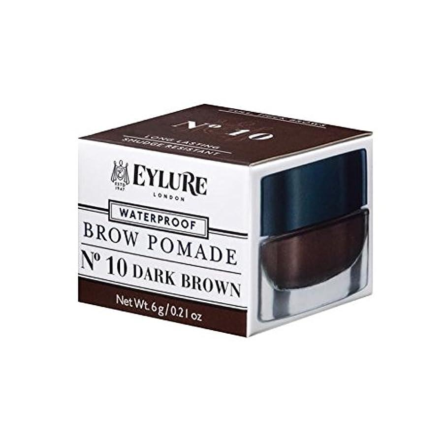 勝者十分機関車の眉ポマードダークブラウン x2 - Eylure Brow Pomade Dark Brown (Pack of 2) [並行輸入品]