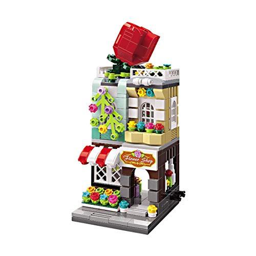 Mini-Doll House Building Blocks Model, 332pcs Coffee Coffee House Building Blocks House Construction Toys Compatible con Lego, Regalo para niñas Niños niños 6 7 8 años