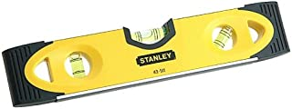 STANLEY 0-43-511 - Nivel manual torpedo alto impacto 230mm v base magnetica