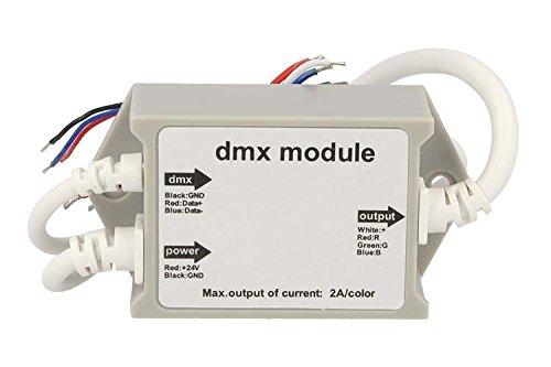 Modulo DMX Converter PWM 24V 2AX3 3 Canali RGB