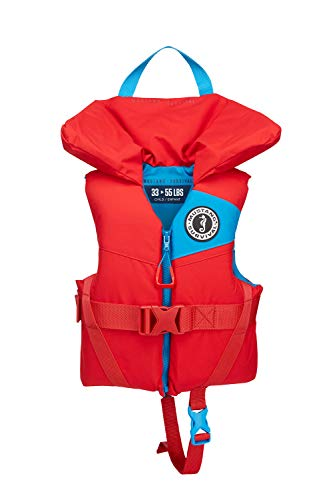 Mustang Survival - Child Foam PFD - Imperial Red, Child (33 lbs - 55 lbs)