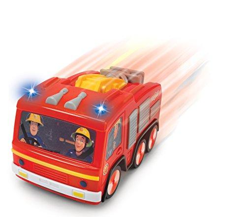 RC Auto kaufen Feuerwehr Bild 2: DICKIE-Spielzeug 203093003 Feuerwehrmann FS Sam IRC Jupiter Fahrzeug*