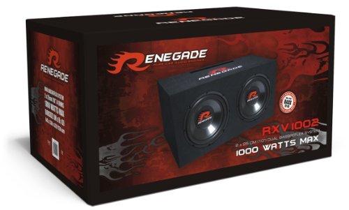 Renegade rxv1002Round 2-Way 1000W Car Speaker–Car Speaker (2-Way, 1000W, 500W, 4Ohm, 92dB, 645mm)