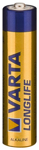 Varta 4103 – Non-Rechargeable Batteries (Alkaline, Cylindrical, AAA, Blue, Yellow, 55 x 11 x 121 mm)