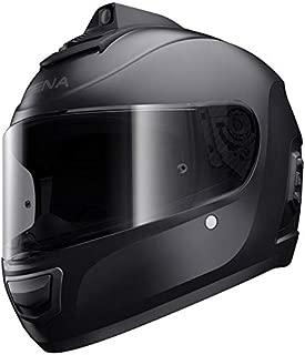 Sena Momentum INC Pro Bluetooth w/Integrated QHD Camera Helmet - Matte Black - XL