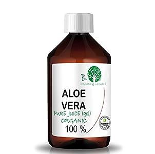 Gel Zumo de Aloe Vera 99.9% Puro Ecológico (1000 ml)