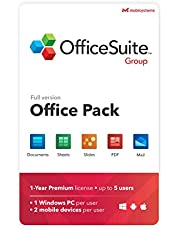 OfficeSuite Group Compatible with Microsoft