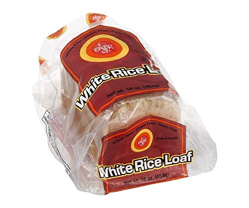 Ener G Foods Bread Rice Wht
