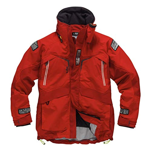Gill OS2 Offshore / Coastal Sailing Jacket 2017 - Red XS