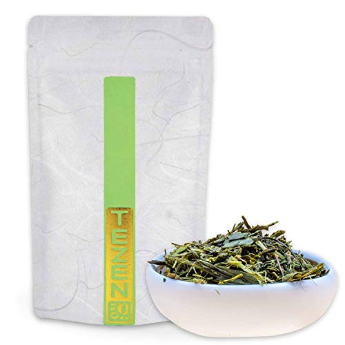 Bancha Tee, Grüner Tee aus Japan | Hochwertiger japanischer Grüntee Yanagi Bancha | Premium Japan Tee Bancha 100 g